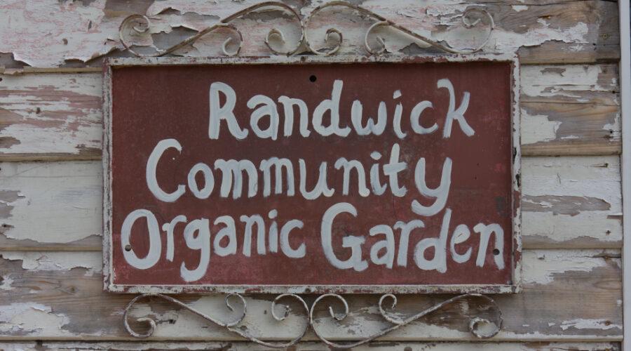 Randwick Community Organic Garden Policy