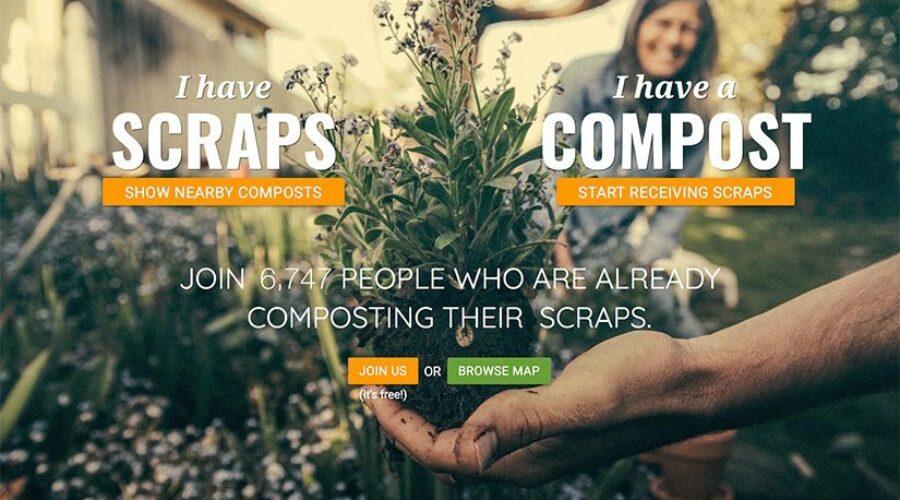 ShareWaste.com links food waste to compost
