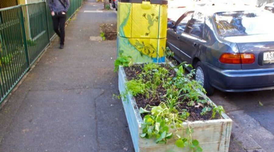 At it again, those verge gardeners