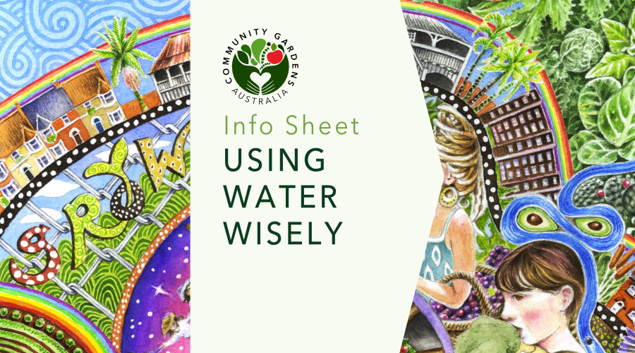 INFO SHEET: Using water wisely