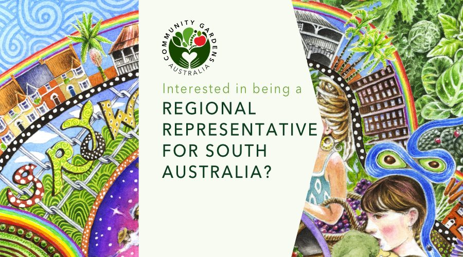 Interested in being SA regional representative for CGA?